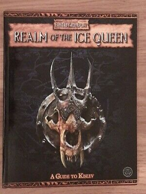 £70 • Buy WFRP 2nd Edition. Realm Of The Ice Queen - A Guide To Kislev