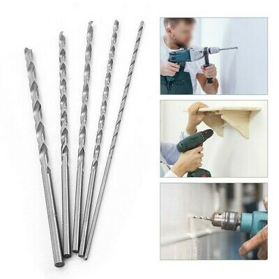 £5.39 • Buy HSS Drill Bits Extra-Long 160-300mm Hole Saw Metal Wood 2.5-6.5mm Drilling-Tools