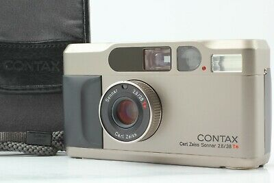 $ CDN1538.82 • Buy [Near MINT W/ Case] Contax T2 35mm Point And Shoot Film Camera From JAPAN