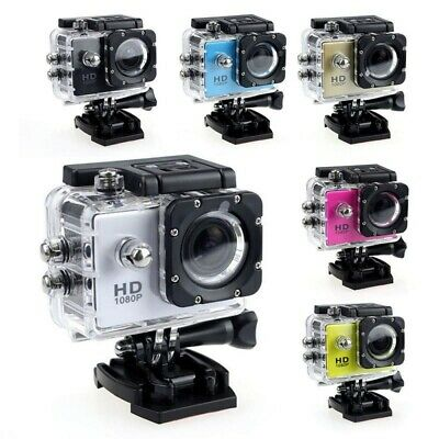 AU21.99 • Buy HD 1080P Waterproof Camera Sports Action CameraVideo Camcorder Recorder GoPro