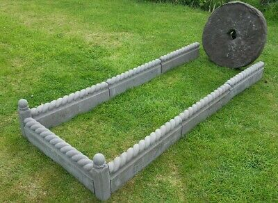 £45 • Buy Grave Surround Feature Inc. 7 Rope Path Edging & 2 Corner Dolly Post COLLECTION