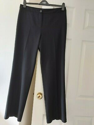 £7.99 • Buy M&S Womens Trousers 14 L M&S Collection Straight Leg Trousers 14 Long Approx 32