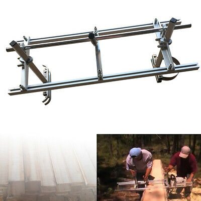 £65 • Buy Portable Chainsaw Mill Attachment Planking Milling Lumber Guide Bar 14 -24