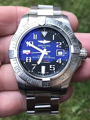 £1775 • Buy Breitling Avenger 2 Seawolf Complete Set And Running Within COSC