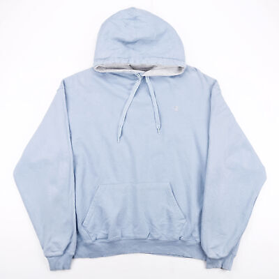 £22.95 • Buy CHAMPION Blue 00s Pullover Hoodie Mens XL