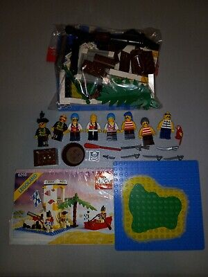 £22.65 • Buy Vintage Lego Pirates Minifigures (8) And British Fort W/Canons And Accessories