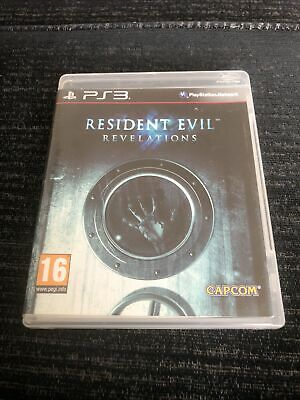 £5.99 • Buy RESIDENT EVIL REVELATIONS PS3 (2013) Sony PlayStation 3 Game Tested And Working