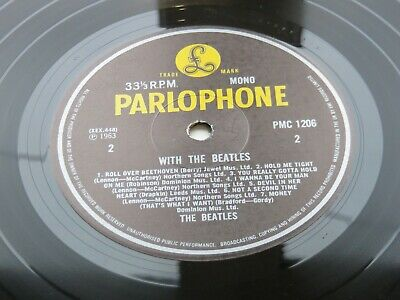 £74.99 • Buy With  The Beatles    Uk Lp 1981 Parlophone   Pmc 1206  Mono Pressing