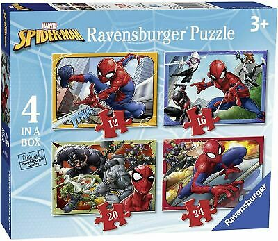 £2.50 • Buy Marvel Spider-Man Puzzle 4 In A Box , Collection