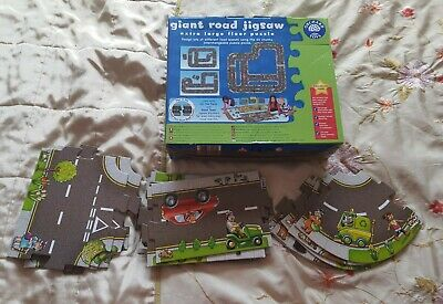 £8 • Buy Orchard Toys Giant Road Floor Jigsaw Puzzle 20 Extra Large Pieces Age 3 +