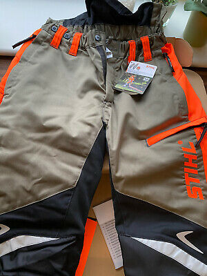 £89 • Buy BNWT Stihl Chainsaw Trousers Pants Design A Class 1 UK 35/32 Function Ergo