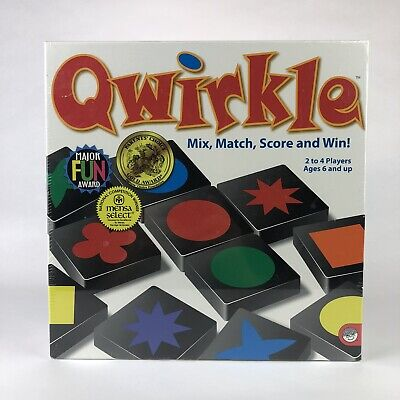 $ CDN29.87 • Buy QWIRKLE Mindware Strategy Mix And Match Tile Board Game ***NEW & SEALED***
