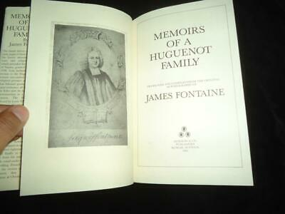 £19.99 • Buy Memoirs Of A Huguenot Family By James Fontaine Family History Genealogy Weavers