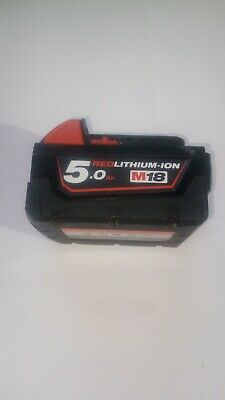 £40 • Buy Milwaukee 18volt Lithium-ion Battery 5 Amp Hour
