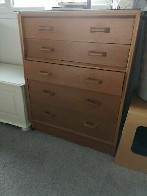 £120 • Buy G Plan E-Gomme Drawers In Great Condition