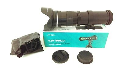 £129.99 • Buy CANON EOS Digital Fit EF-S 420-800mm SUPER TELEPHOTO ZOOM Lens For EOS Cameras