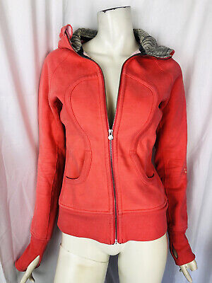 $ CDN12.79 • Buy LULULEMON Size 6 Special Edition Pink Hooded Sweat Jacket