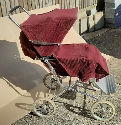 £10 • Buy Vintage Mothercare Pushchair. Condition Is Used, Wheels Are Worn But Otherwise G