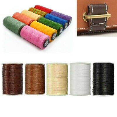 £7.66 • Buy Sewing Thread Waxed Cords For Crafts Leather Shoes All Purpose 210D 200M Colors