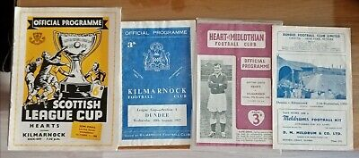 £16.17 • Buy 4 Kilmarnock Cup And League  Programmes 1950s