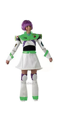 £0.99 • Buy Toy Story Buzz Lightyear Ladies Fancy Dress Costume - Used - Med/lge
