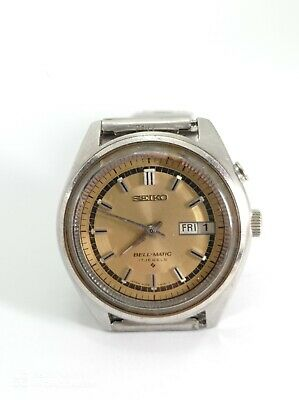 $ CDN194.35 • Buy Seiko Automatic Bell-matic Men Watch 4006-7020 As-is For Parts Or Repair Project