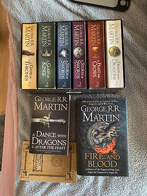 £12 • Buy Game Of Thrones Box Set George R. R. Martin A Song Of Ice And Fire 8 BOOKS
