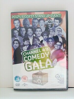 £1.50 • Buy Brand New & Sealed Channel 4's Comedy Gala 2012 DVD (2012)