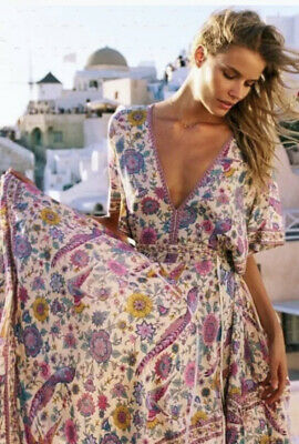 AU208 • Buy Spell & The Gypsy Collective Lovebird Half Moon Gown, Chamomile SIZE S RRP$329