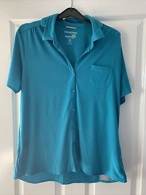 £3 • Buy Craghoppers Solarshield Sun Protective Clothing Size 14 Short Sleeve Top