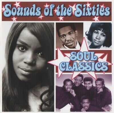 £25 • Buy Time Life Music - Sounds Of The Sixties - Soul Classics - Rare Double Cd