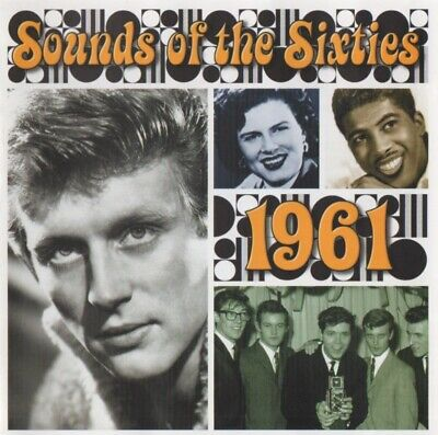 £12.50 • Buy Time Life Music - Sounds Of The Sixties 1961 - Rare Double Cd