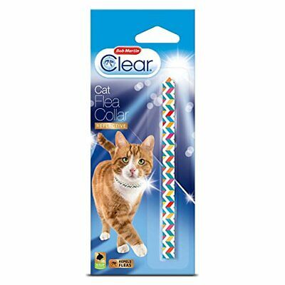 £6.21 • Buy Bob Martin Clear | Cat Flea Collar With Bell Suitable For Kittens
