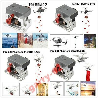 AU92.46 • Buy Drone Clip Payload Delivery Drop Transport Device For DJI MAVIC2/PRO/ Phantom4/3