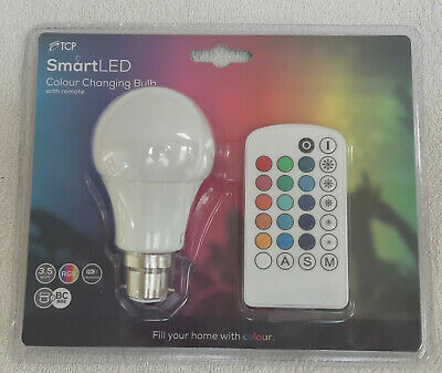 £12.50 • Buy Colour-Changing LED Light Bulb With Remote Control