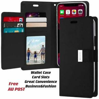 AU12.99 • Buy For IPhone7/iPhone8/iPhoneSE2020 Wallet Leather Flip Case Cover/Multi-card Slots