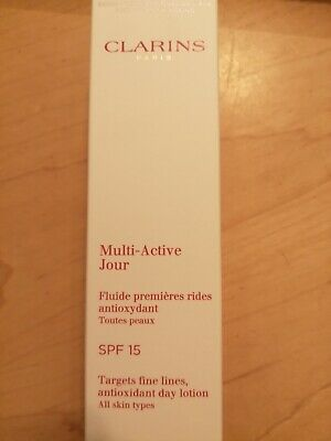 £15 • Buy Clarins Multi-Active Day Lotion SPF 15 - All Skin Types 50ml