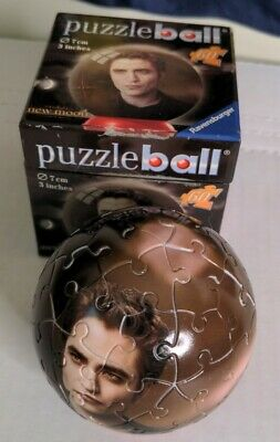 $6 • Buy Ravensburger 60 Piece Puzzle Ball 3 Inches Twilight New Moon Complete Edward