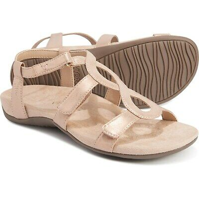 £31.86 • Buy Vionic W Orthaheel Technology Jodie Sandal, Rose Gold Leather Women Size 9 M NEW