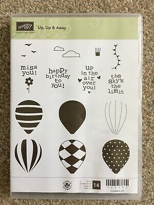 £5 • Buy Stampin Up Stamps Up, Up And Away