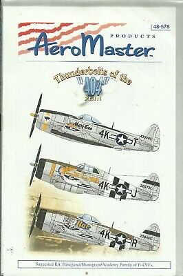 £9 • Buy Aeromaster Decals 48-578 P-47D Thunderbolt Decals In 1:48 Scale