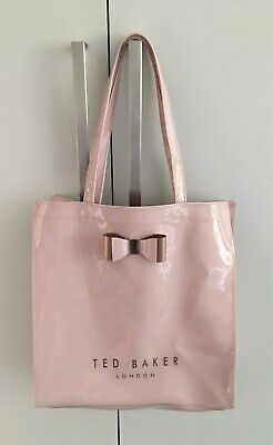AU38.74 • Buy Ted Baker Large Shopper Bag Pink Unwanted Gift Excellent Condition