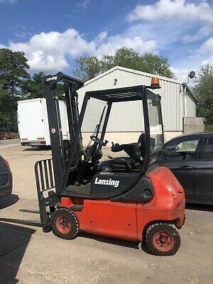 £3500 • Buy Linde E16 Electric Counterbalance Forklift Low Hours