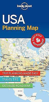 £5.88 • Buy Lonely Planet USA Planning Map - 9781786579096
