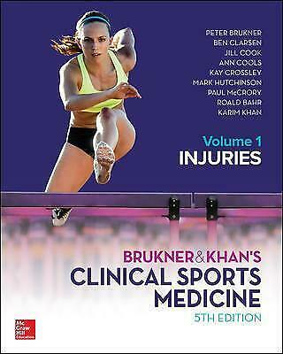 £89.38 • Buy Brukner And Khans Clinical Sports Medicine Injuries, Volume 1 - 9781760421663