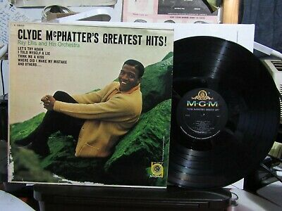 £1.41 • Buy CLYDE McPHATTER'S GREATEST HITS MGM CLEAN RECORD 33 LP NICE