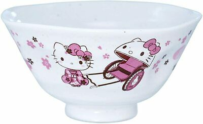£16.99 • Buy Hello Kitty Japanese Tableware Rice Bowl Cherry Blossoms Made In Japan Sanrio
