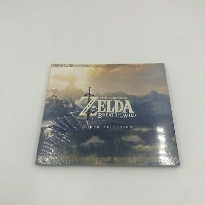 AU33.37 • Buy Legend Of Zelda Breath Of The Wild Collector's Edition Sound Selection CD