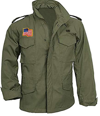 $90 • Buy Sylvester Stallone M65 Field Military Commander John Us  Army Tank Cotton Jacket