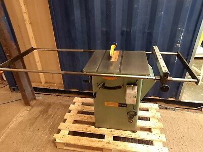 £456 • Buy 240v Table Saw * DELIVERY AVAILABLE * Startrite Bench Panel